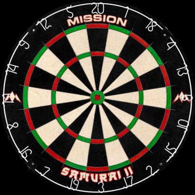 Mission Samurai II  Dartboard