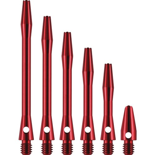 Dartshopper Dartshopper Aluminium Metal Red Shafts