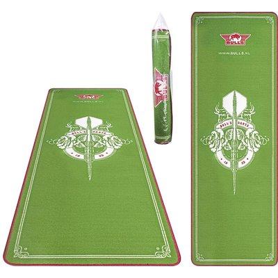 Bulls Carpet Mat Green 241x80 cm Dart Mat