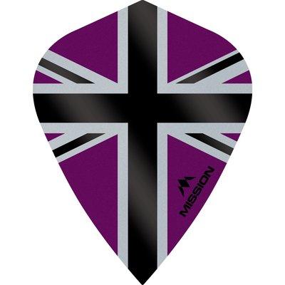 Mission Alliance-X 100 Purple & Black Kite