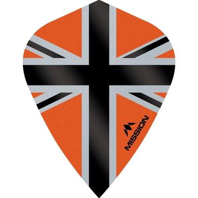 Mission Alliance-X 100 Orange & Black Kite