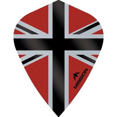 Mission Alliance-X 100 Red & Black Kite