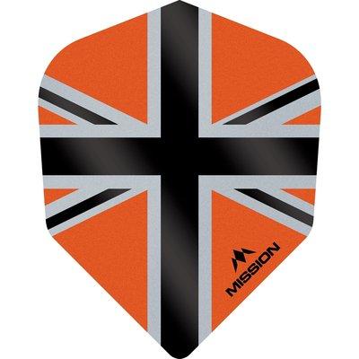 Mission Alliance-X 100 Orange & Black NO6