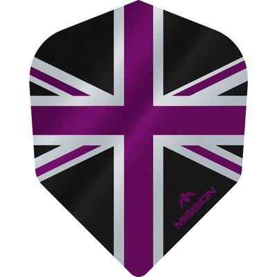 Mission Alliance 100 Black & Purple NO6