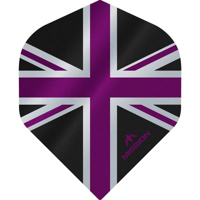 Mission Alliance 100 Black & Purple NO2