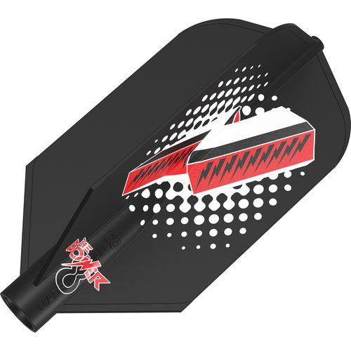 8 Flight 8 Flight Phil Taylor Black Print Slim