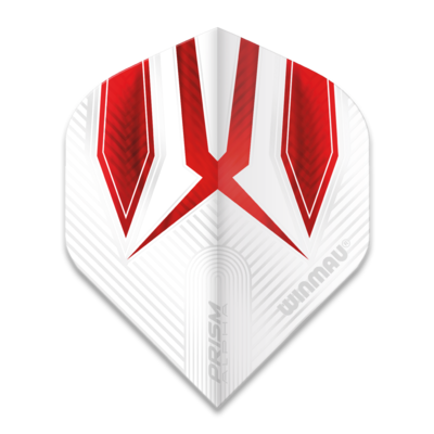 Winmau Prism Alpha Extra Thick White & Red