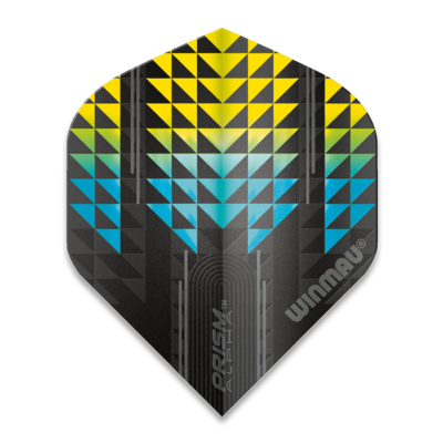 Winmau Prism Alpha Extra Thick Blue & Yellow