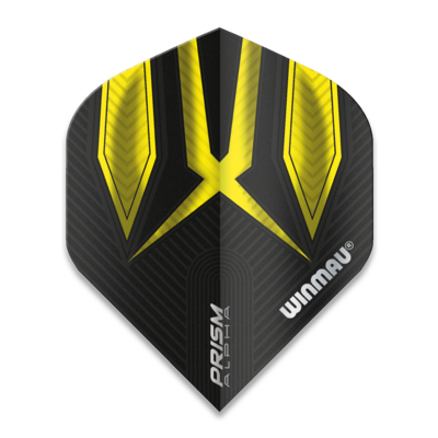 Winmau Prism Alpha Extra Thick Black & Yellow