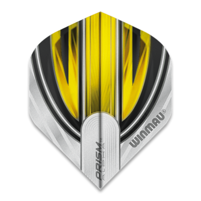 Winmau Prism Alpha Extra Thick White & Yellow