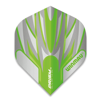 Winmau Prism Alpha Extra Thick Grey & Green