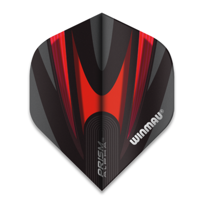 Winmau Prism Alpha Extra Thick Black & Red
