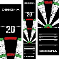 Designa Designa Carpet   Dartboard 20 - 290cm x 60cm Dart Mat
