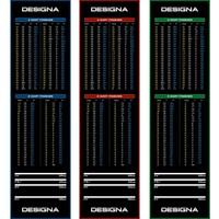 Designa Designa Carpet  - Non Slip Back - 290cm x 80cm Dart Mat
