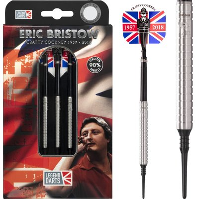 Eric Bristow Crafty Cockney 90% Silver Ringed Soft Tip