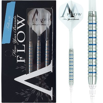 Dynasty A-Flow Fallon Sherrock Blue Label 80% Soft Tip