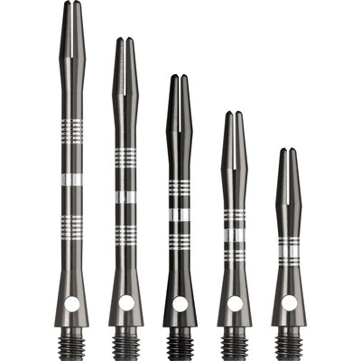 Dartshopper Aluminium Regrooved Grey Shafts
