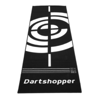 Dartshopper Dartshopper Carpet  285 x 80 cm Dart Mat