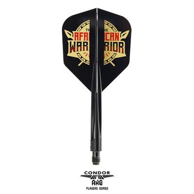 Condor Axe Player - African Warrior - Inspiration 2 Black- Small