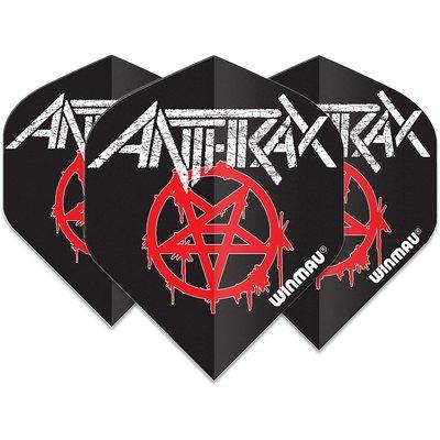 Winmau Rock Legends Anthrax Logo