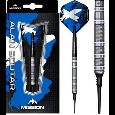 Mission Alan Soutar Blue & White 90% Soft Tip