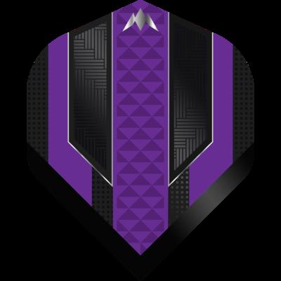 Mission Temple NO2 Black & Purple