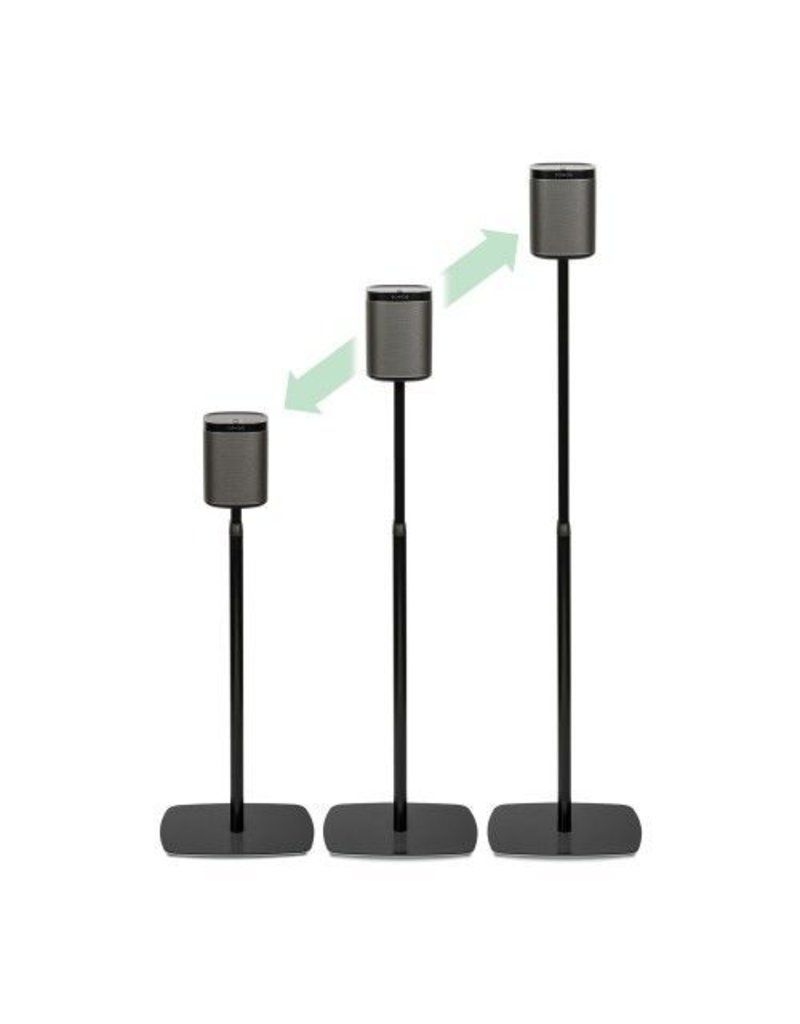 SONOS PLAY1 ADJUSTABLE STANDS BLACK PAIR