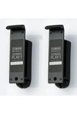 FLEXSON PLAY 1 WALL BRACKET X 2 BLACK