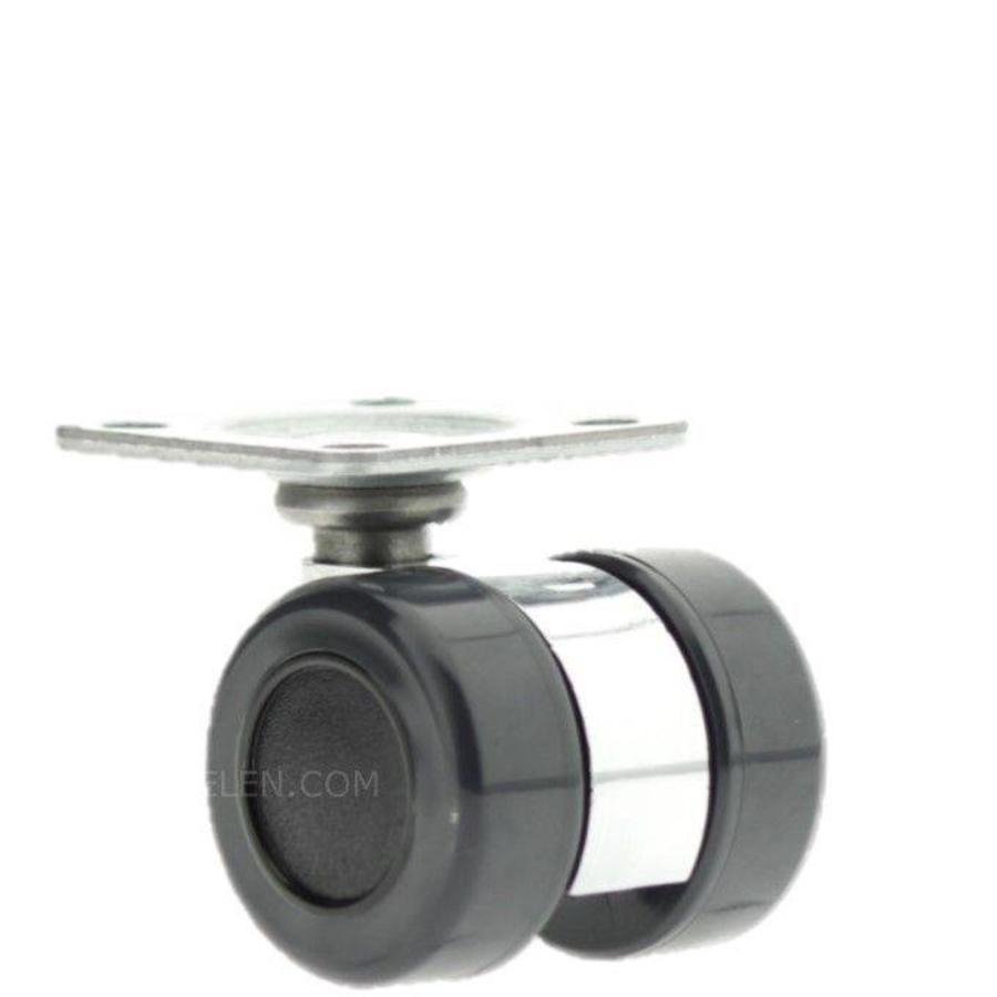 PATRLOW zilver wiel 30mm plaat 36x36mm