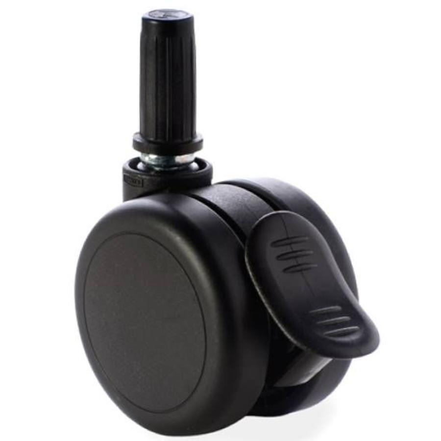 PAROL wiel 65mm plug 15mm met rem