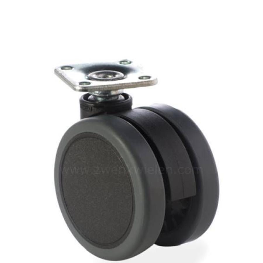 PATPROL wiel 65mm plaat 42x42mm