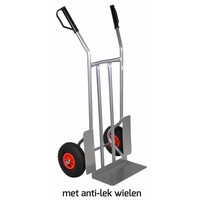 Steekwagen 250kg antilek wielen