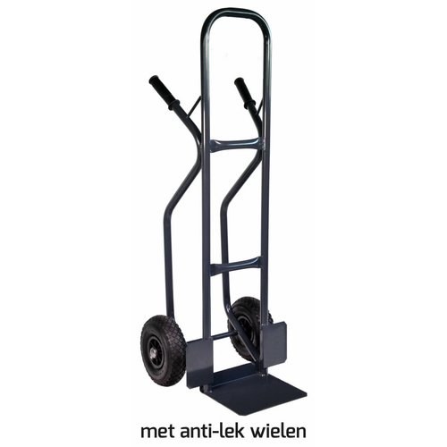 Krattenwagen 300kg antilek wielen