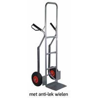 Krattenwagen 250kg hoog antilek wielen