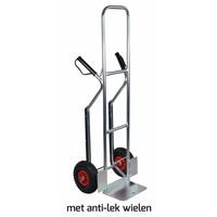 Krattenwagen 200kg hoog aluminium antilek wielen