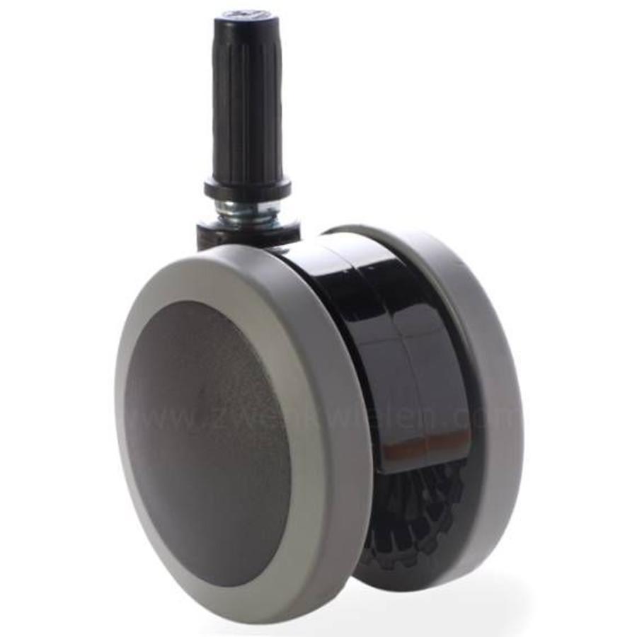 PAPU black wiel 75mm plug 22mm
