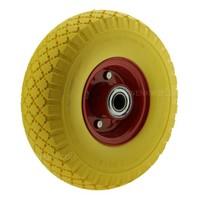 Kinderkruiwagen wiel anti-lek geel