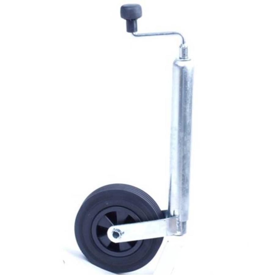 Neuswiel rubber 200 mm kunststof velg
