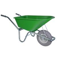 Kruiwagen 100 liter lime