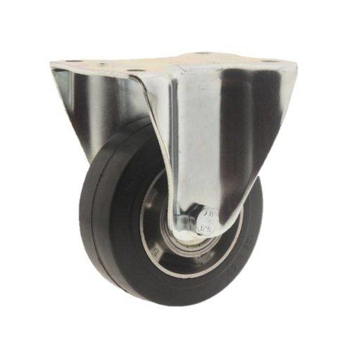 Bokwiel rubber 125 5SO plaat
