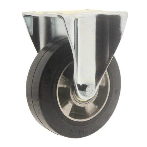 Bokwiel rubber 160 5SO plaat