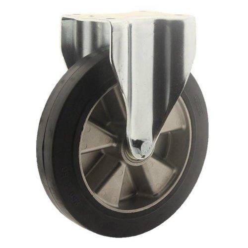 Bokwiel rubber 250 5SO plaat