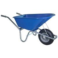 Kruiwagen 100 liter blauw