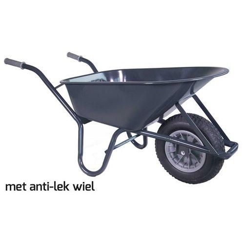 Kruiwagen 85 liter anti-lek wiel