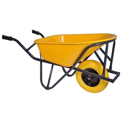 Kruiwagen Pro 90 liter HDPE anti-lek wiel