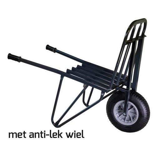 Steenkruiwagen 60 steens anti-lek wiel
