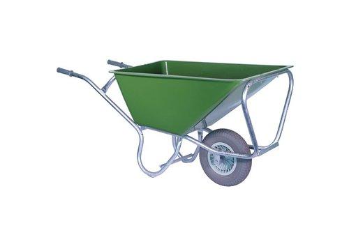 Volumekruiwagen 160 liter pro anti-lek wiel