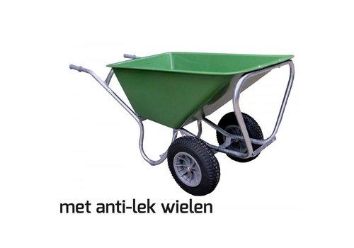 Volumekruiwagen 160 liter pro 2 anti-lek wielen