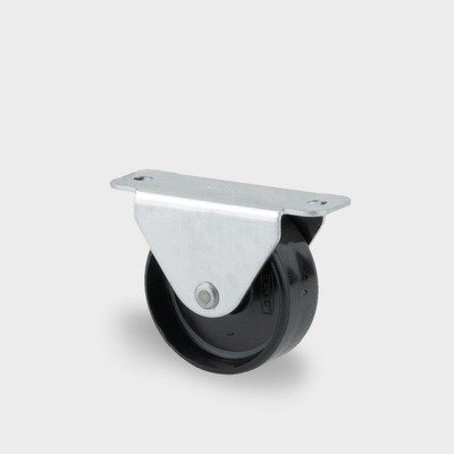 Bokwiel 25mm plaatbevestiging