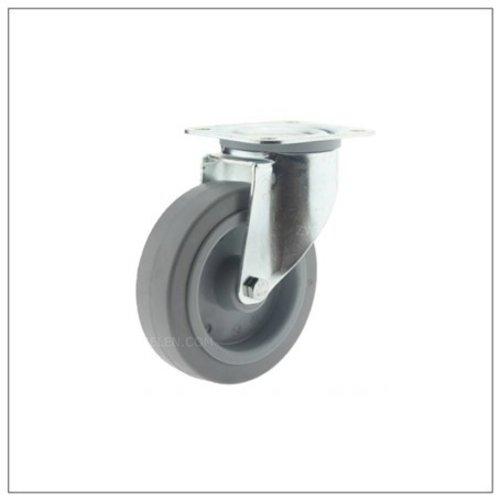 Elastisch rubber zwenkwielen